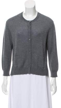 Prada Wool Crew Neck Cardigan w/ Tags