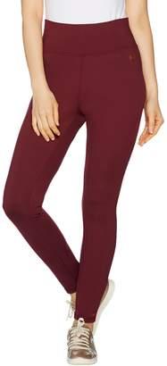 Peace Love World Ponte Knit High Waisted Full Length Legging