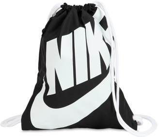Nike Heritage Nylon Drawstring Backpack