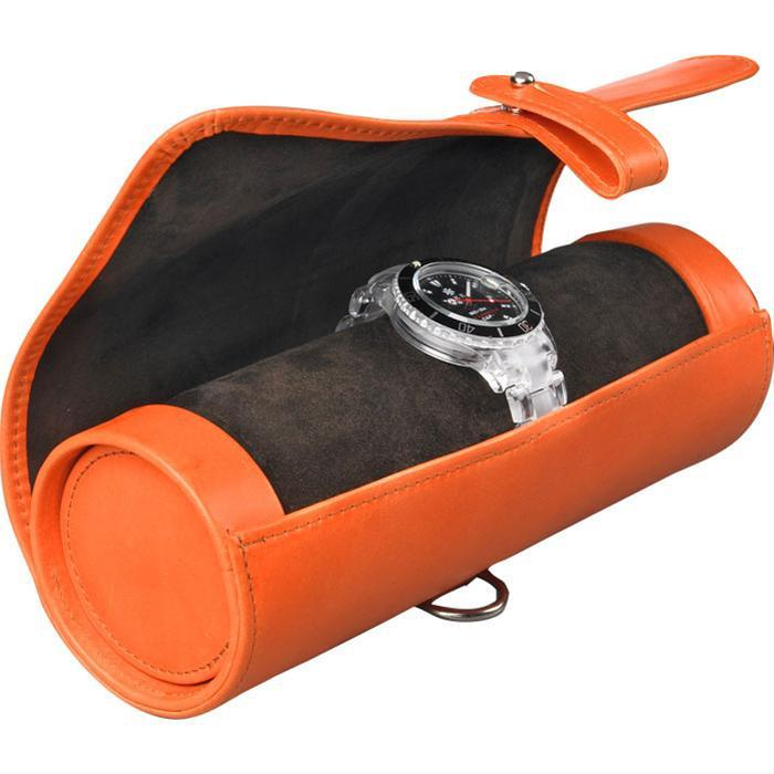 Exclusive Leather Watch Roll by Bill Amberg