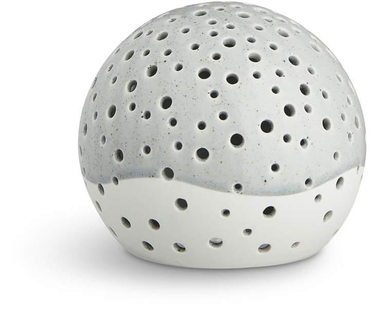 Kähler Design - Nobili Teelichtleuchter Kugel Ø 14 cm, Grau