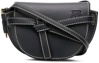 Loewe front knot rounded crossbody bag