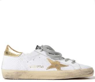 Golden Goose Women's Sneakers Superstar Print Snake-Gold Star G32WS590.D88
