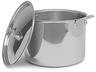 Bed Bath & Beyond All-Clad® Stainless Steel 12-Quart Covered Stock Pot