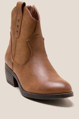 Rampage Thriller Basic Western Lo Shaft Boot - Black