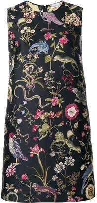 RED Valentino floral jacquard dress