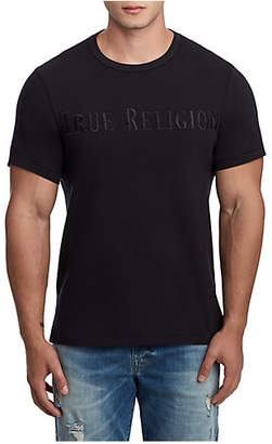 True Religion MENS TR EMBROIDERY APPLIQUE TEE