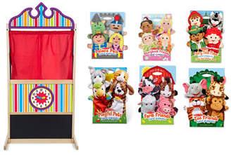 Melissa & Doug Let's Play Deluxe Puppet Theater
