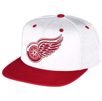 Reebok NHL Detroit Red Wings Multi Color Flat Brim Snapback Cap