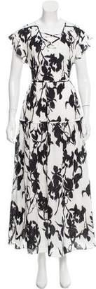 Thakoon Floral Print Maxi Dress w/ Tags