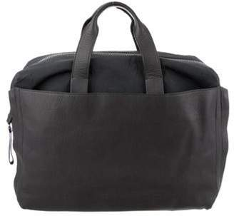 Lanvin Leather Tote Bag Grey Leather Tote Bag