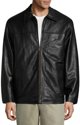 VINTAGE LEATHER Vintage Leather Lambskin Leather Jacket with Zip Out Lining - Big