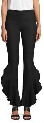 Giambattista Valli Classic Ruffled Pants