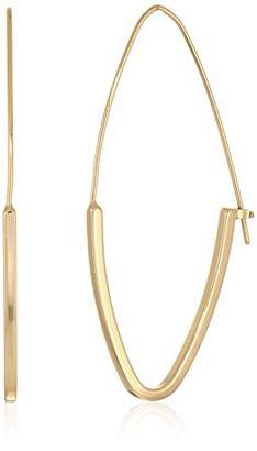 BCBGeneration BCBG Generation Women's Gold Marquise Hoop Earrings