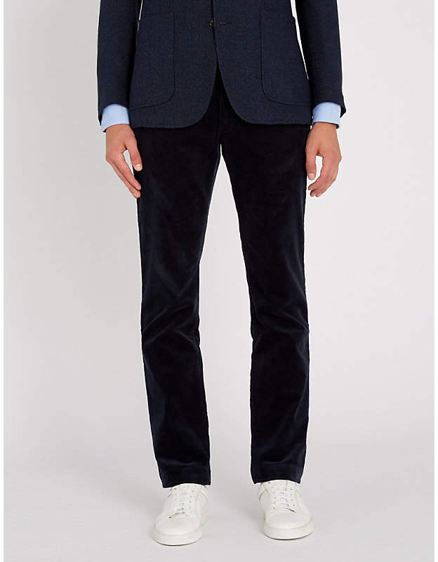 Polo Ralph Lauren Slim-fit tapered stretch-corduroy chinos
