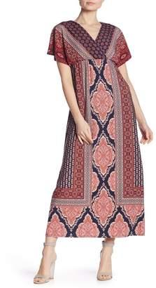 London Times Matte Jersey Maxi Dress