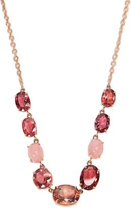 Irene Neuwirth Opal, tourmaline & rose-gold necklace