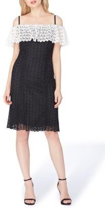 Women's Tahari Off The Shoulder Lace Dress $188 thestylecure.com