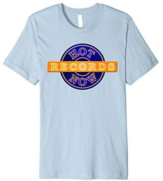 American Apparel Hot Now Records T-Shirt (Blue)