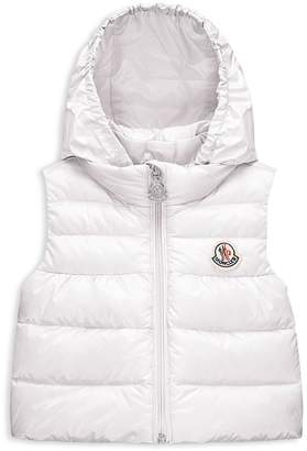Moncler Unisex Hooded Down Puffer Vest - Baby $220 thestylecure.com