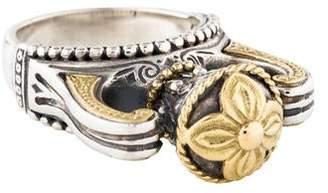 Konstantino Two-Tone Urn Ring
