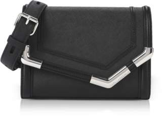 Karl Lagerfeld K/Rocky Saffiano Small Shoulder Bag