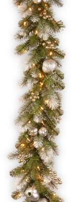 The Holiday Aisle Pomegranate Glittery Pine Garland