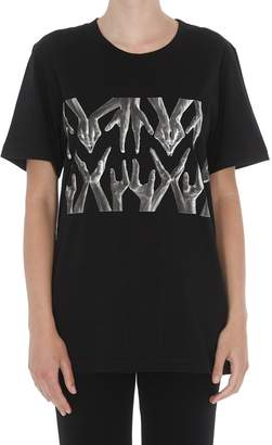 MM6 MAISON MARGIELA Logo Hands T-shirt