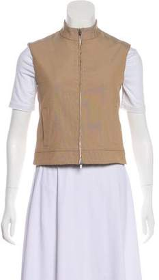 Calvin Klein Collection Zip-Up Casual Vest w/ Tags