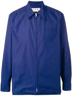Marni lightweight zip-up jacket