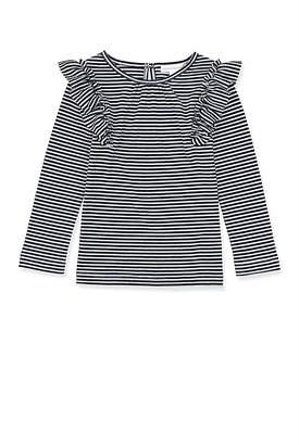 Country Road Stripe Ruffle T-Shirt