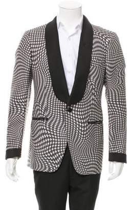 Tom Ford Abstract Print Tuxedo Jacket w/ Tags