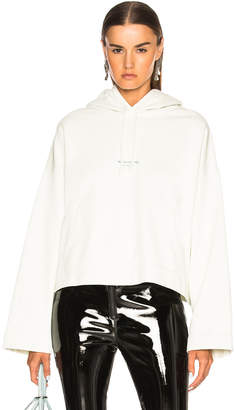 Acne Studios Joggy Hoodie in Ice White | FWRD