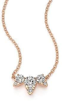 Hearts On Fire Women's Aerial Triple Diamond & 18K Rose Gold Necklace