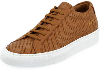 Common Projects Original Achilles Low-Top Perforated Sneaker