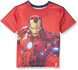 Marvel Boy's Avengers Reversible T-Shirt
