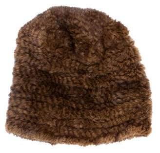 Cassin Fur Knit Beanie