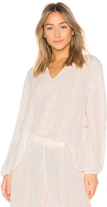 Jonathan Simkhai Embroidered Blouse