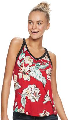 Candies Juniors' Candie's Cutout Tank Top