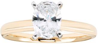 Evergreen Diamonds 1 Carat T.W. IGL Certified Lab-Grown Diamond Solitaire Engagement Ring