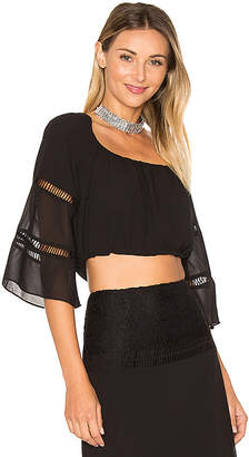 ale by alessandra x REVOLVE Virginia Top in Black $138 thestylecure.com