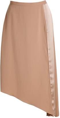 Carven Knee Length Pleated Skirt