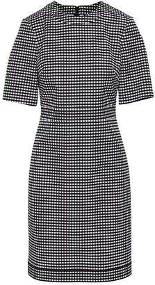 Banana Republic Gingham Bi-Stretch Sheath Dress