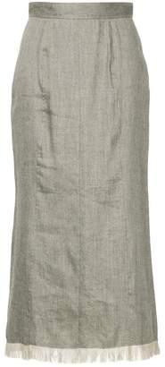 CITYSHOP frayed edge skirt