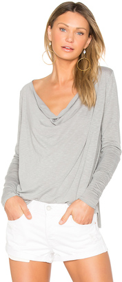 LA Made Marissa Drape Back Tee $68 thestylecure.com