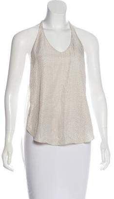 3.1 Phillip Lim Semi-Sheer Sleeveless Top