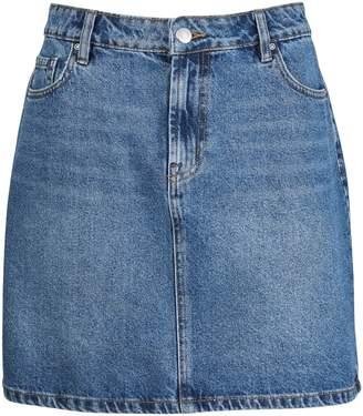 Dorothy Perkins Womens Indigo Denim Mini Skirts