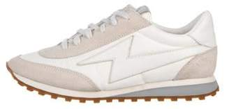 Marc Jacobs Suede Lightning Bolt Runners Tan Suede Lightning Bolt Runners