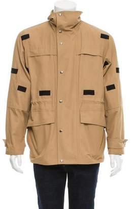 Christian Dior Contrast Parka Jacket