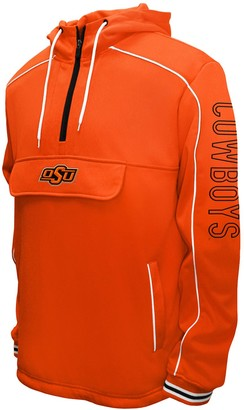NCAA Men's Franchise Club Oklahoma State Cowboys Edge Anorak Pullover